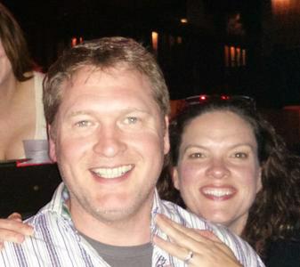 Geoff McGowen and wife photo.