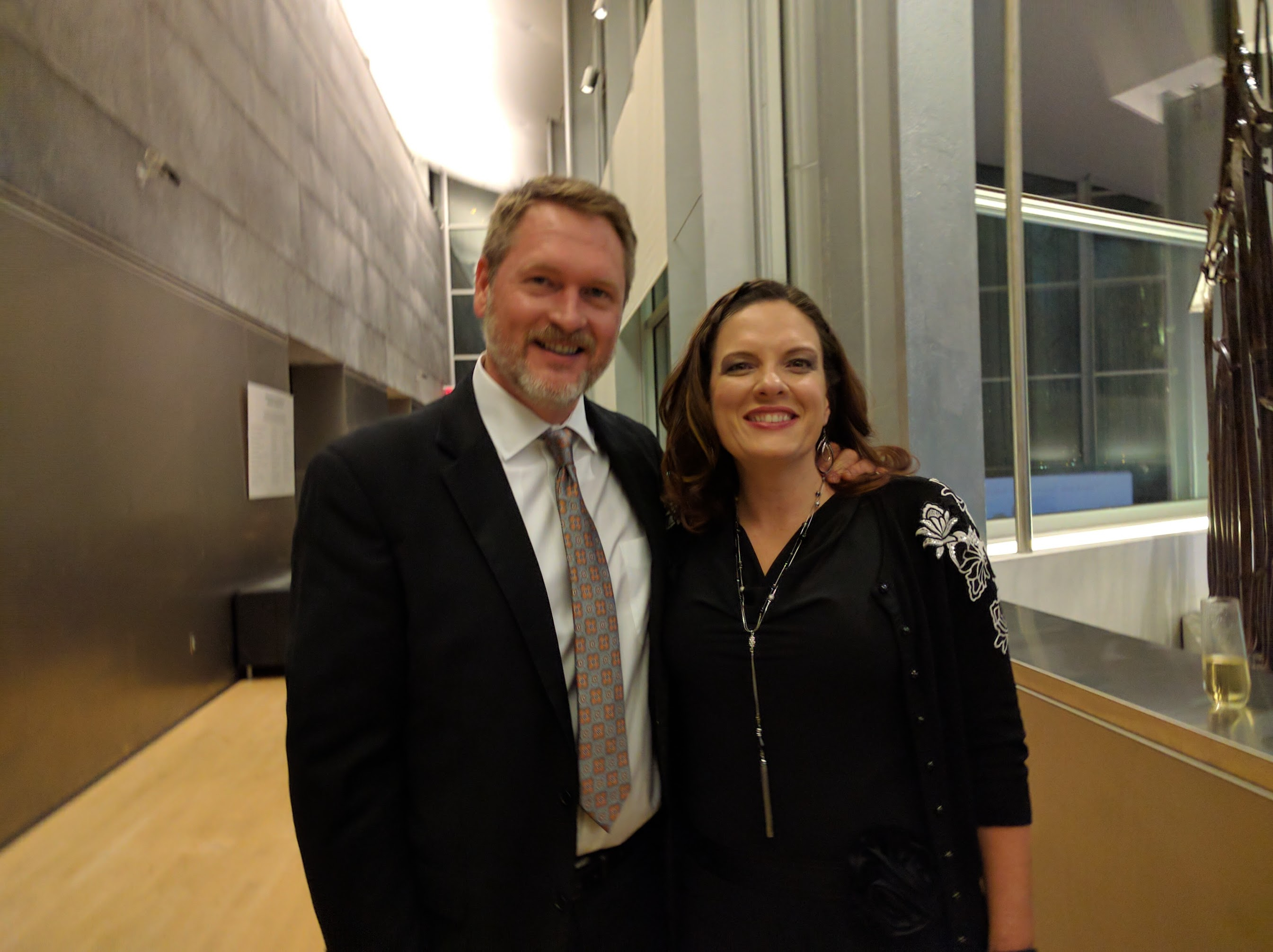Geoffrey McGowen and Olivia McGowen