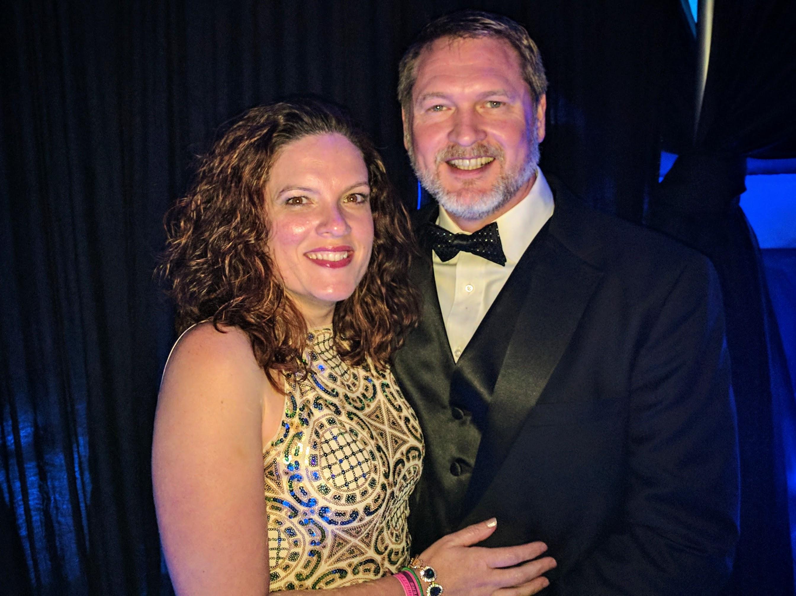 Geoffrey McGowen & wife Olivia